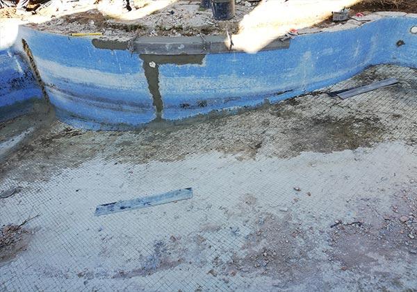 Reforma de piscina en Montecalderon