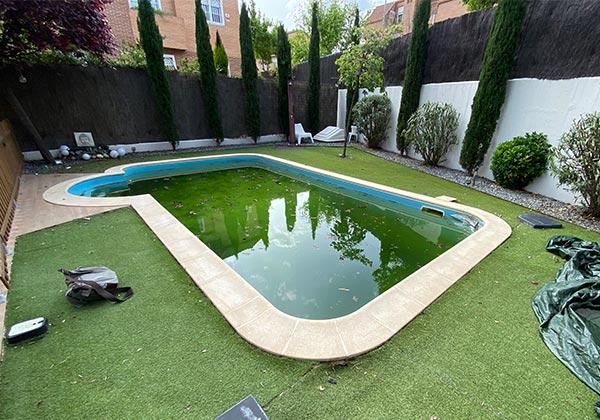 Reforma de piscina en La Garena por Acuaroy