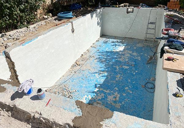 Reforma de piscina en Santorcaz por Acuaroy